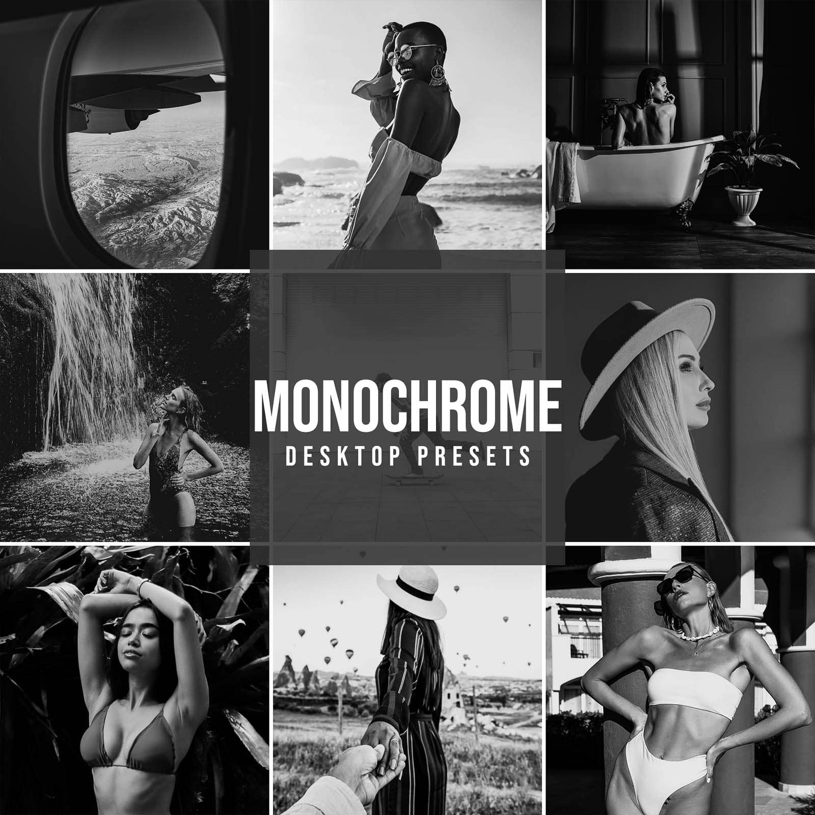 MONOCHROME DESKTOP LIGHTROOM PRESETS