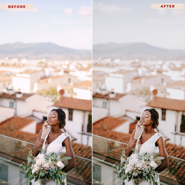 MOODY WEDDING MOBILE LIGHTROOM PRESETS