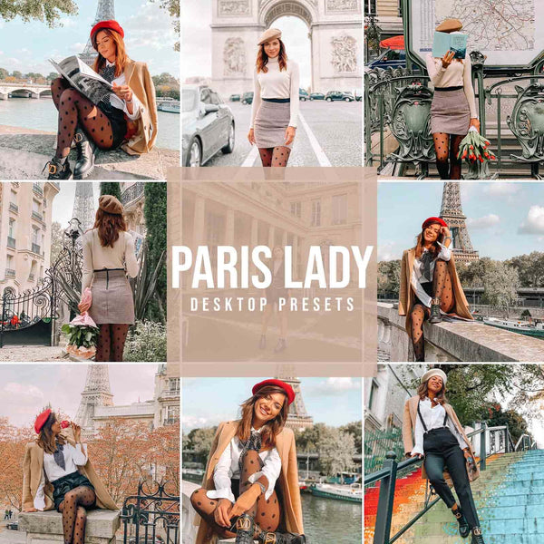 """PARIS LADY"" PRESETAI"