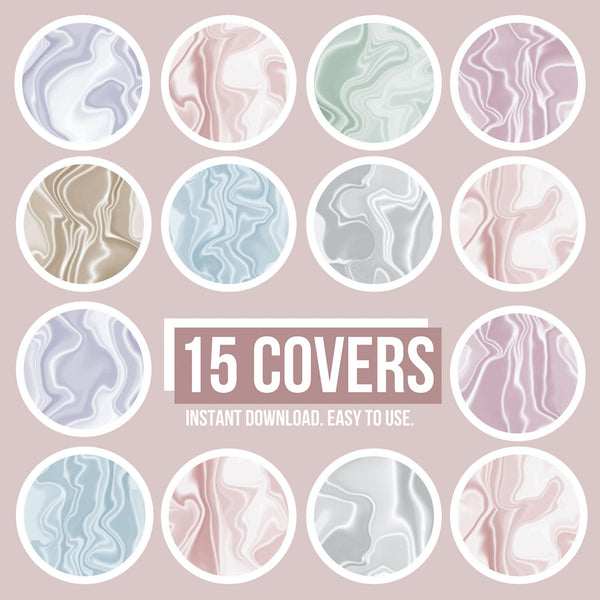PASTEL STYLE IG HIGHLIGHT COVERS