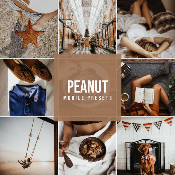 PEANUT MOBILE LIGHTROOM PRESETS