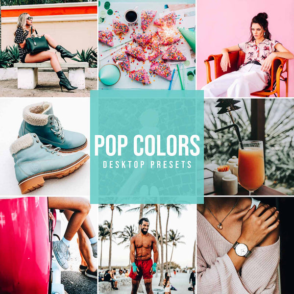 POP COLORS DESKTOP LIGHTROOM PRESETS