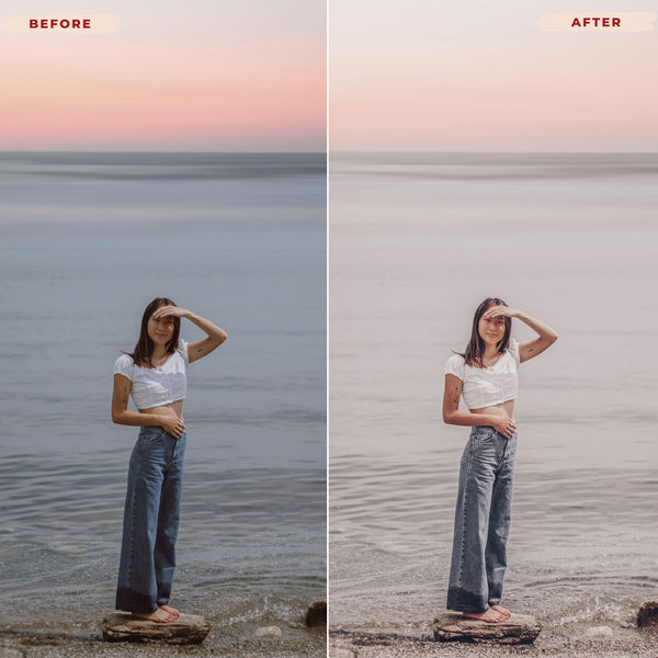 ROSE GOLD DESKTOP LIGHTROOM PRESETS