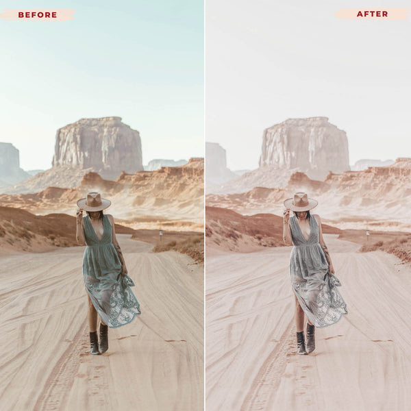 ROSE GOLD MOBILE LIGHTROOM PRESETS