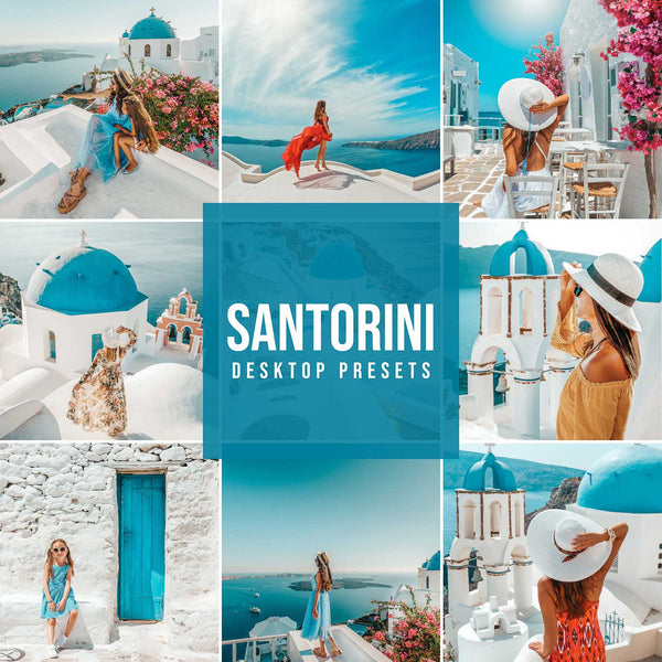 SANTORINI DESKTOP LIGHTROOM PRESETS