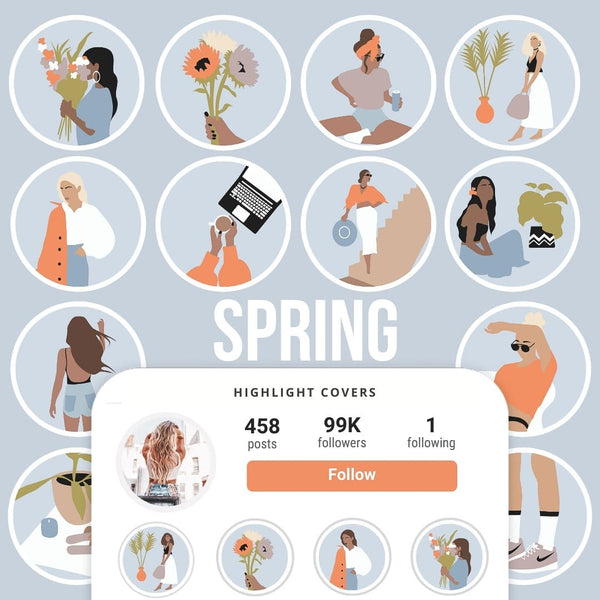 SPRING IG HIGHLIGHT COVERS