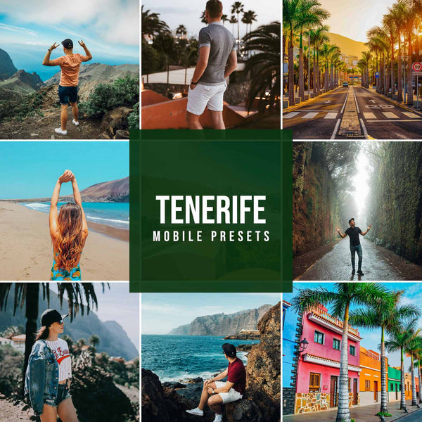 TENERIFE MOBILE LIGHTROOM PRESETS
