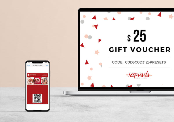 Presets gift card