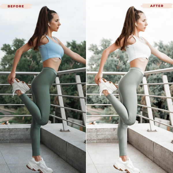 WORKOUT DESKTOP LIGHTROOM PRESETS