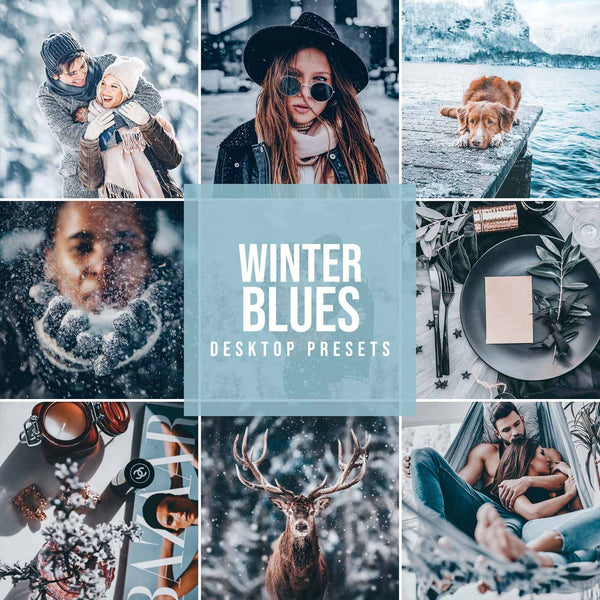 """WINTER BLUES"" PRESETAI"