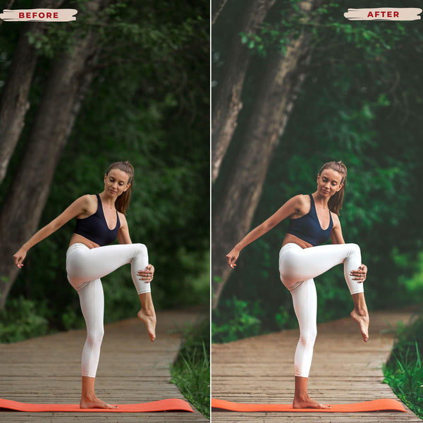 YOGA MOBILE LIGHTROOM PRESETS
