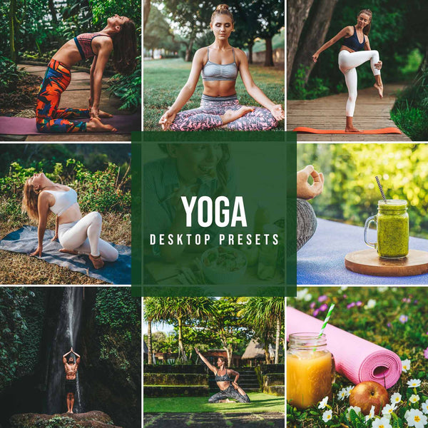 YOGA DESKTOP LIGHTROOM PRESETS