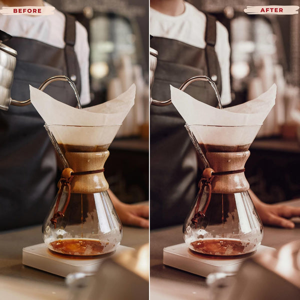 COFFEE LOVERS DESKTOP LIGHTROOM PRESETS