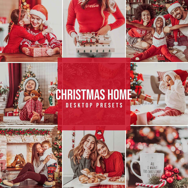 CHRISTMAS HOME DESKTOP LIGHTROOM PRESETS