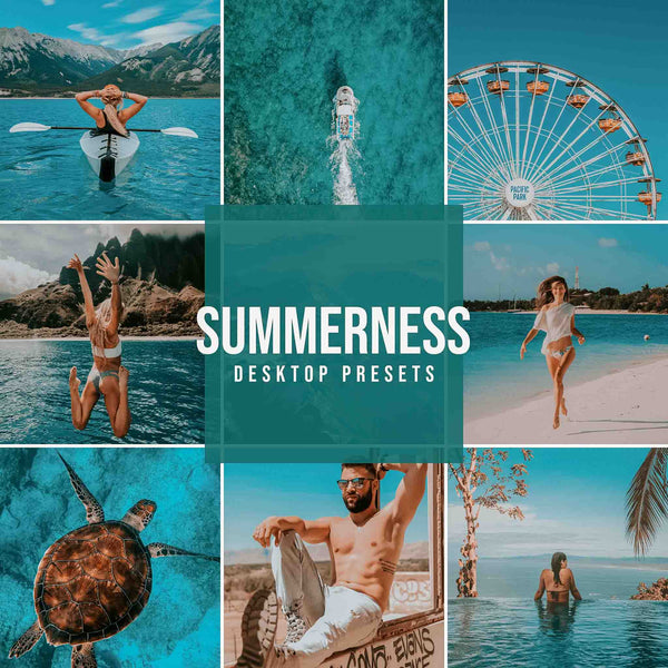 SUMMERNESS DESKTOP LIGHTROOM PRESETS