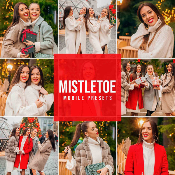 MISTLETOE MOBILE LIGHTROOM PRESETS