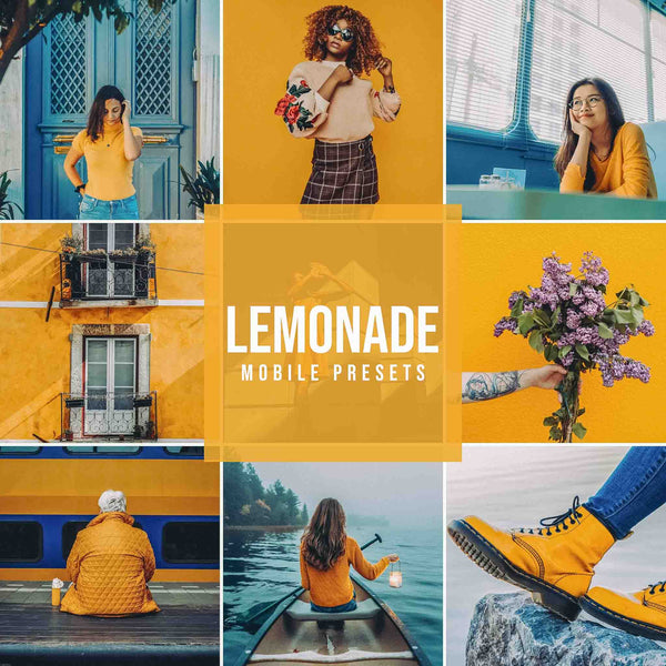 LEMONADE MOBILE LIGHTROOM PRESETS