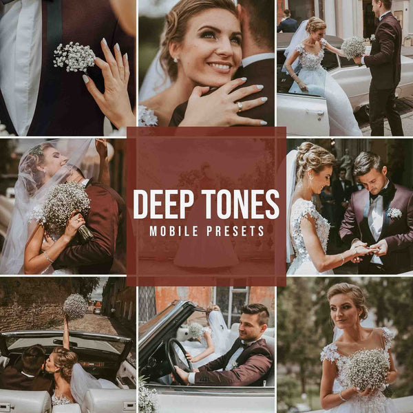 DEEP TONES MOBILE LIGHTROOM PRESETS