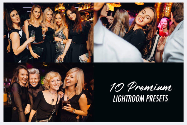 NIGHTLIFE (Desktop) lightroom presets