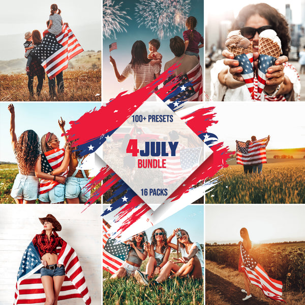 4TH OF JULY BUNDLE MOBILE LIGHTROOM PRESETS