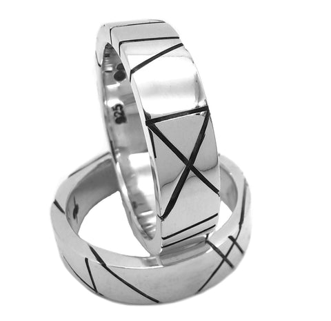 Lines of Symmetry Ring