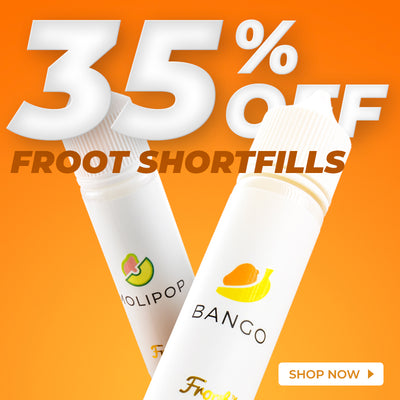 35% off Froot Shortfills