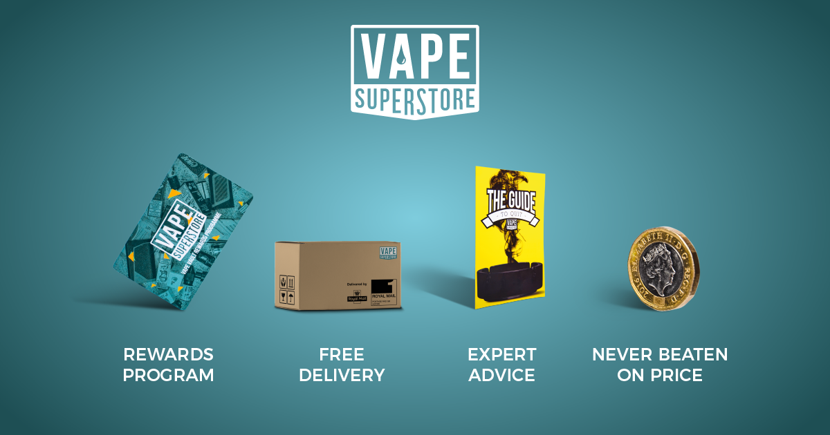 Vape Superstore | Leading UK Supplier of Kits, Hardware, E