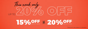 Spend More, Save More - Up to 20% Off