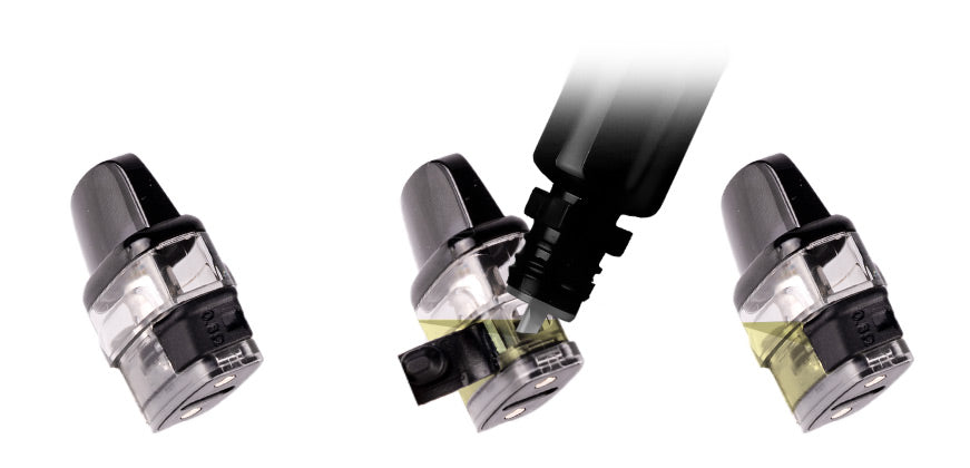 How to fill the Voopoo Vinci Pod Cartridges