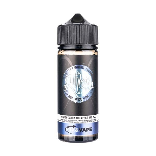 Antidote On Ice 100ml Shortfill E-Liquid by Ruthless