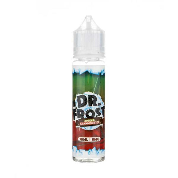 Apple & Cranberry Ice Shortfill E-Liquid by Dr Frost
