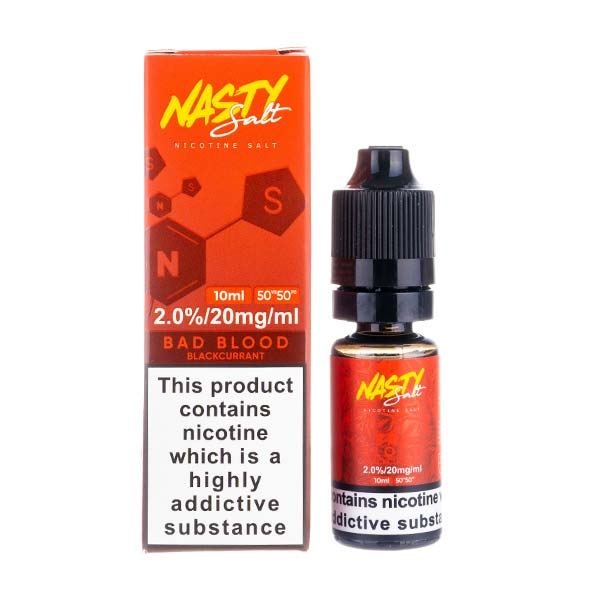 Bad Blood E-Liquid Nic Salt by Nasty Juice