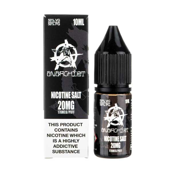 Black Nic Salt E-Liquid by Anarchist