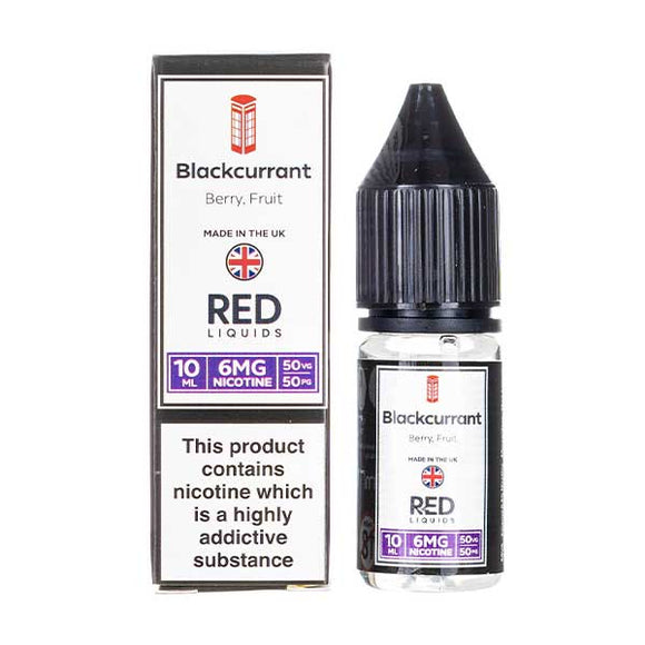 Blackcurrant E-Liquid by Red Liquid