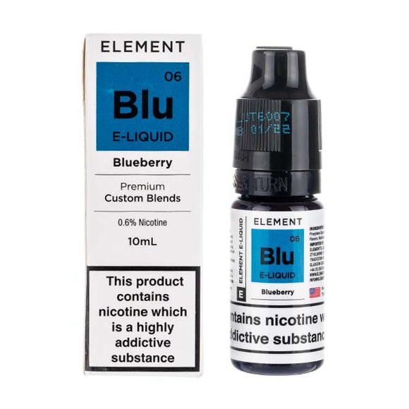 Blueberry 50/50 E-Liquid by Element