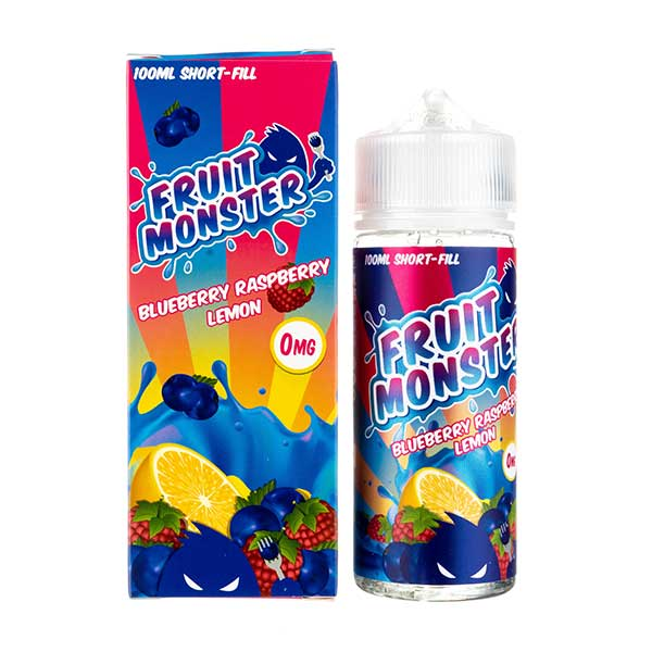 Blueberry, Raspberry & Lemon Shortfill E-Liquid by Fruit Monster