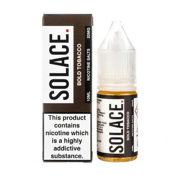 Bold Tobacco Nic Salt E-Liquid by Solace