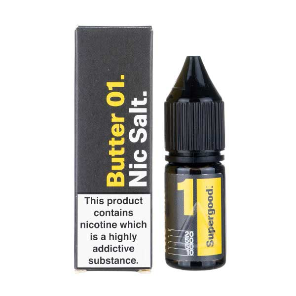 Butter 01 Nic Salt E-Liquid by Supergood