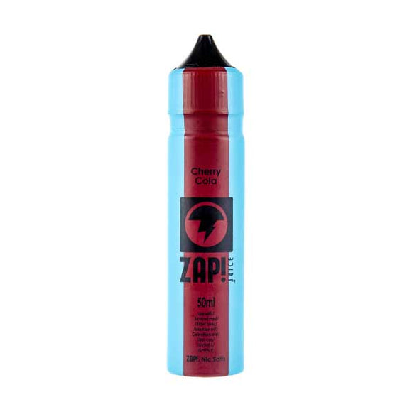 Cherry Cola Shortfill E-Liquid by Zap! Juice