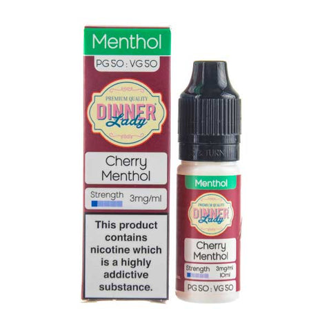 Cherry Menthol E-Liquid by Dinner Lady