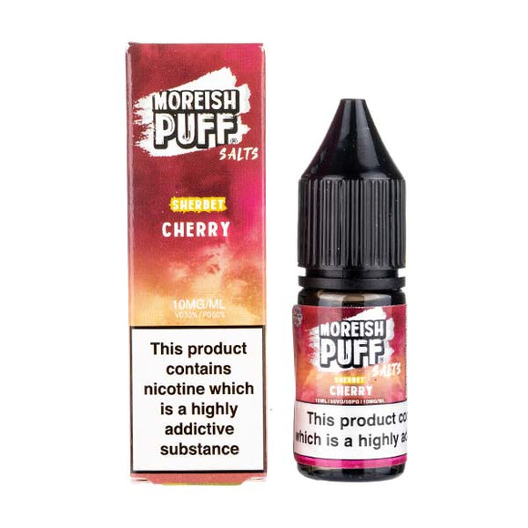 Cherry Sherbet Nic Salt E-Liquid by Moreish Puff
