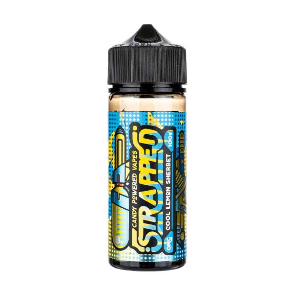 Cool Lemon Sherbet Shortfill E-Liquid by Strapped