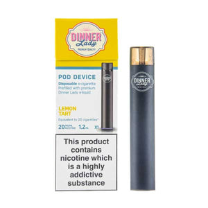 Disposable Nic Salt Pod Kit by Dinner Lady