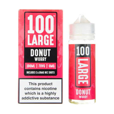 Donut Worry Shortfill E-Liquid by 100 Large