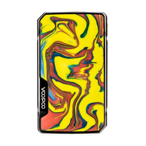 Drag 2 Platinum Mod by VooPoo - fire cloud (front)