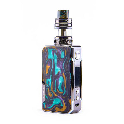 Drag 2 Platinum Vape Kit by VooPoo - Black/Aurora