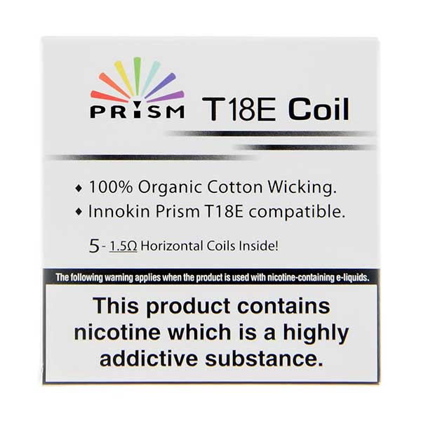 Endura T18E Coils - 5 Pack by Innokin