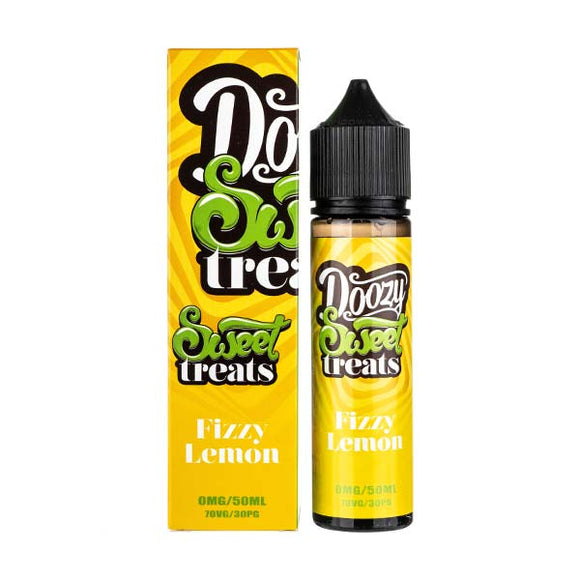 Fizzy Lemon Shortfill E-Liquid by Doozy Vapes