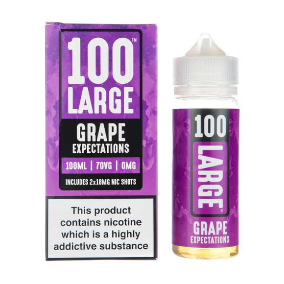 Grape Expectations Shortfill E-Liquid by 100 Large