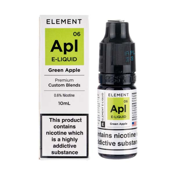 Green Apple 50/50 E-Liquid by Element